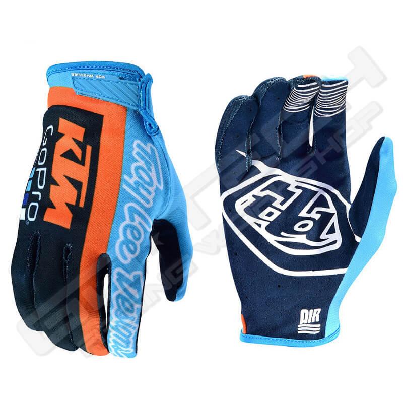 Troy Lee Designs Air KTM Team Motocross Handschuhe XL