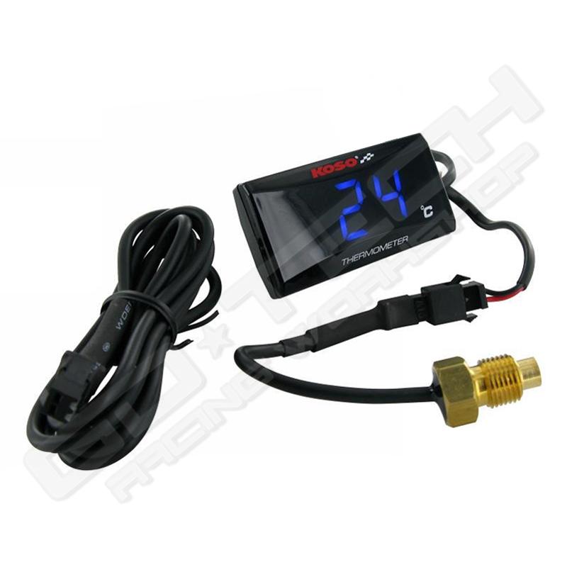 termometro temperature 0-120/°C KOso per tutte le moto e scooter e altri mezzi